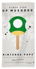 My Nintendo Ice Pop - 1 Up Mushroom Hand Towel