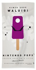 My Nintendo Ice Pop - Waluigi Hand Towel