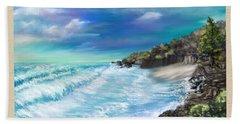 My Private Ocean Bath Towel by Susan Kinney