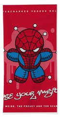 My Supercharged Voodoo Dolls Spiderman Hand Towel
