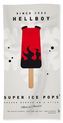 My Superhero Ice Pop - Hellboy Hand Towel