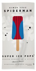 My Superhero Ice Pop - Spiderman Hand Towel by Chungkong Art
