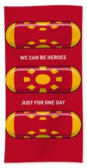 My Superhero Pills - Iron Man Bath Towel