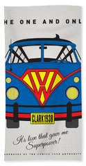 My Superhero-vw-t1-superman Hand Towel