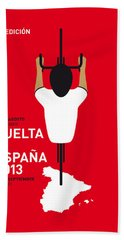 My Vuelta A Espana Minimal Poster - 2013 Bath Towel