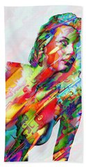 Myriad Of Colors Bath Towel