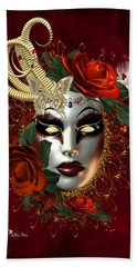 Mysteries Of The Mask 2 Bath Towel