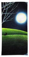 Mystery's Silence And Wonder's Patience Bath Towel