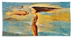 Mystic Mermaid IIi Hand Towel