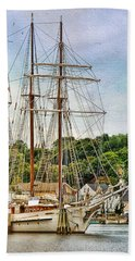 Mystic Seaport  Bath Towel