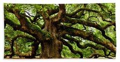 Mystical Angel Oak Tree Hand Towel