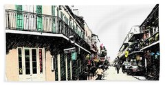 N O French Quarter Hand Towel