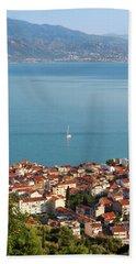 Nafpaktos, West Greece, Greece Bath Towel