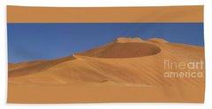 Namibian Desert Bath Towel by Richard Garvey-Williams