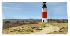 Nantucket's Sankaty Head Light Hand Towel