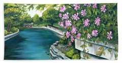 Naperville Riverwalk Bath Towel