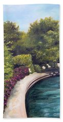 Naperville Riverwalk II Bath Towel