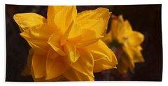 Narcissus Sweet Sue In Full Bloom Bath Towel