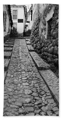 Narrow Street In Cusco Bath Towel