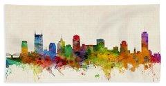 Nashville Skyline Hand Towels
