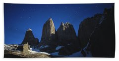 National Park In Patagonia, Chile Hand Towel