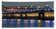 Bath Towel featuring the photograph Nationals Park by Jerry Gammon