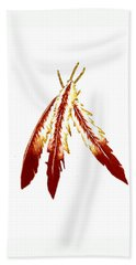 Native American Feathers  Hand Towel