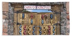 Hand Towel featuring the photograph Native American Trading Post by Dora Sofia Caputo Photographic Art and Design