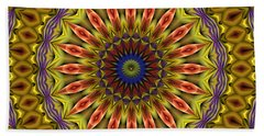 Bath Towel featuring the digital art Natural Attributes 03 Horizontal by Wendy J St Christopher