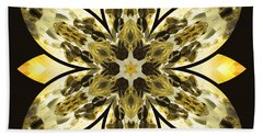 Nature's Mandala 57 Hand Towel by Derek Gedney
