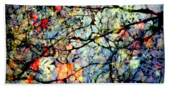 Natures Stained Glass Hand Towel