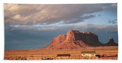Navajo Compound And Mesa Hand Towel