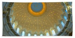 Naval Academy Chapel Side Dome Bath Towel by Mark Dodd