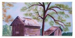 Nc Tobacco Barns Bath Towel