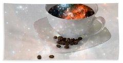 Nectar From Heaven - Coffee Art By Sharon Cummings Bath Towel