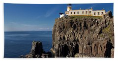 Neist Point Lighthouse Bath Towel