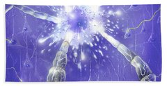 Neuron Impulse Bath Towel