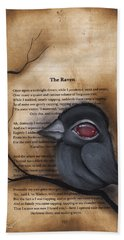 Nevermore #1 Hand Towel