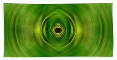 New Growth - Green Art By Sharon Cummings Hand Towel
