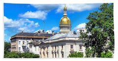 New Jersey Capitol Hand Towel