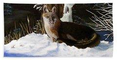 New Mexico Swift Fox Bath Towel