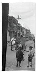 New Orleans, C1925 Bath Towel by Granger