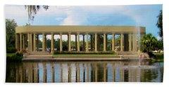 New Orleans City Park - Peristyle Hand Towel by Deborah Lacoste