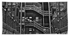 New Photographic Art Print For Sale Bradbury Building Downtown La Bath Towel