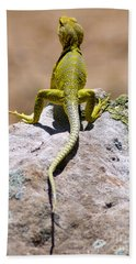 New Photographic Art Print For Sale Lizard Back Ghost Ranch New Mexico Hand Towel