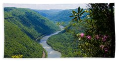 New River View Hand Towel