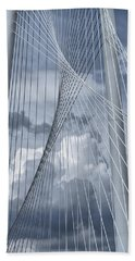 New Skyline Bridge Hand Towel