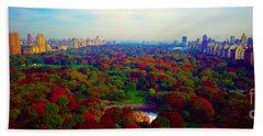 New York City Central Park South Hand Towel
