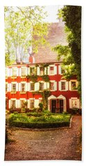 New York City - Charming Townhouses Hand Towel