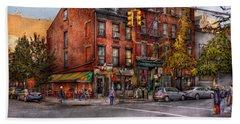 New York - City - Corner Of One Way And This Way Hand Towel